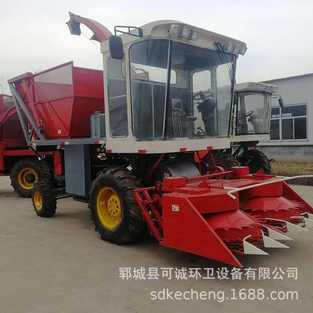 厂家直销青储机 大型 供应玉米秸秆青储机 自走式青贮机 图片