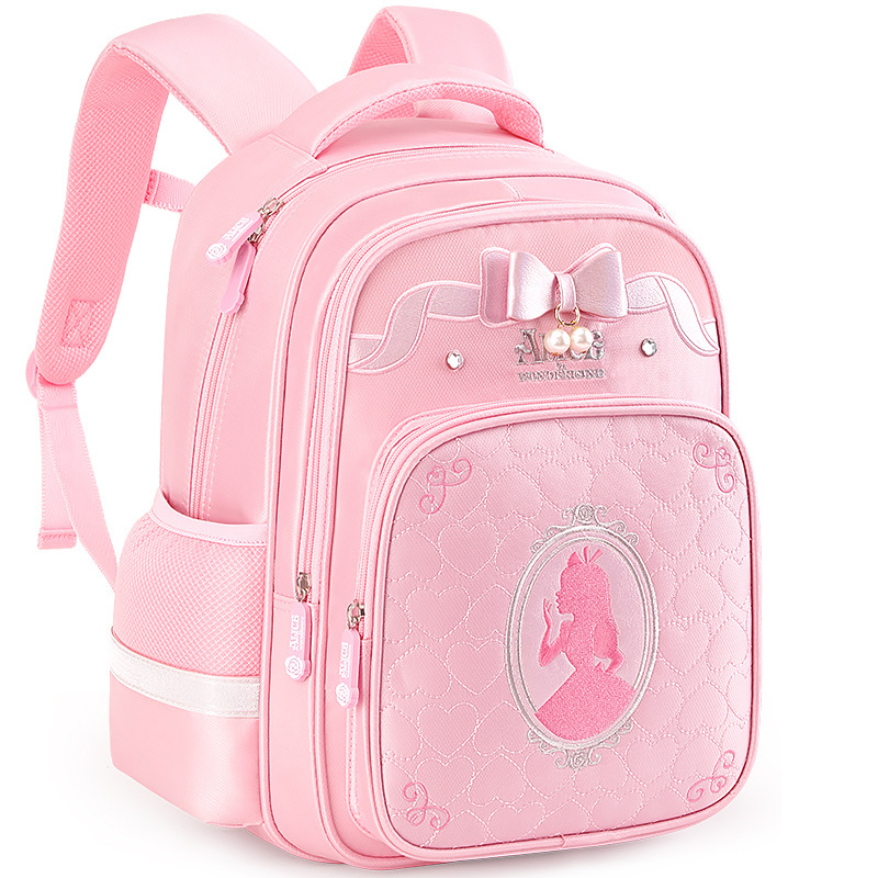 Disney Primary School Students Bag 2019 New Style Girl's Shoulders Backpack 1-3-4-5 Grade Cute Girls Bag