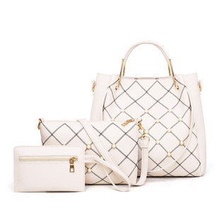 2020 new European and American fashion hand-held handbags personality all-match hit color single shoulder bag simple messenger mother-and-child bag