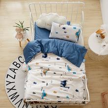 幼儿园被子三件套纯棉儿童被褥全棉宝宝午睡婴儿床A类六件套