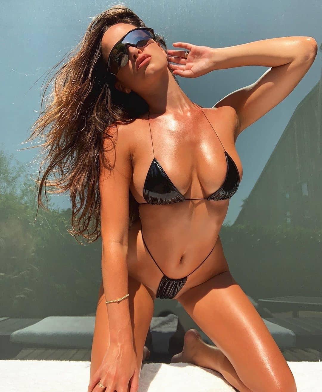 hot sale leather bikini new sexy ladies split swimsuit five colors NSDA2185