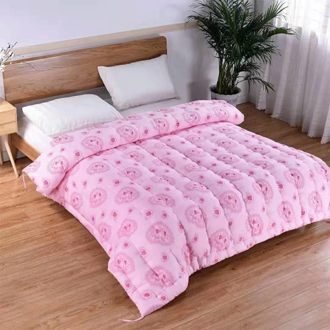厂家直销 棉花被8斤加厚秋冬被子保暖 手工棉被单人垫被双人床垫