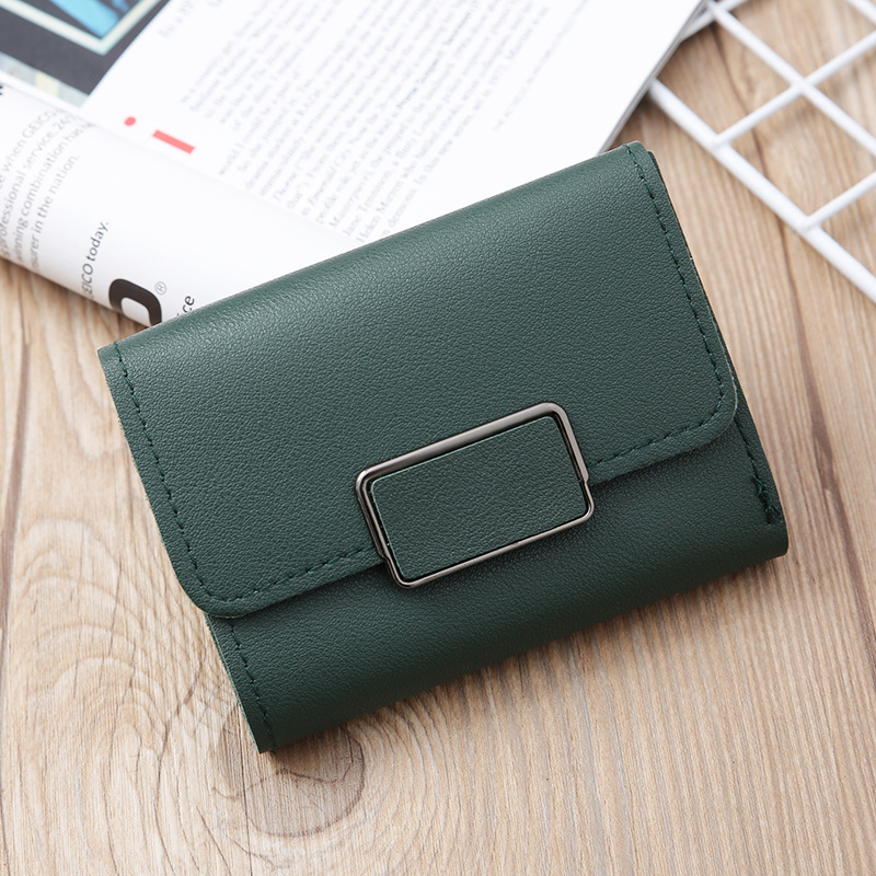 Korean solid color mini coin purse  NHLAN337342
