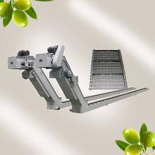 加工中心機床鏈板排屑器重型廢料鏈條爬坡提升輸送機刮板式排屑機