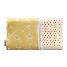 泰国天然乳胶儿童枕2-8岁宝宝幼儿园枕芯青少年学生护颈枕头 批发
