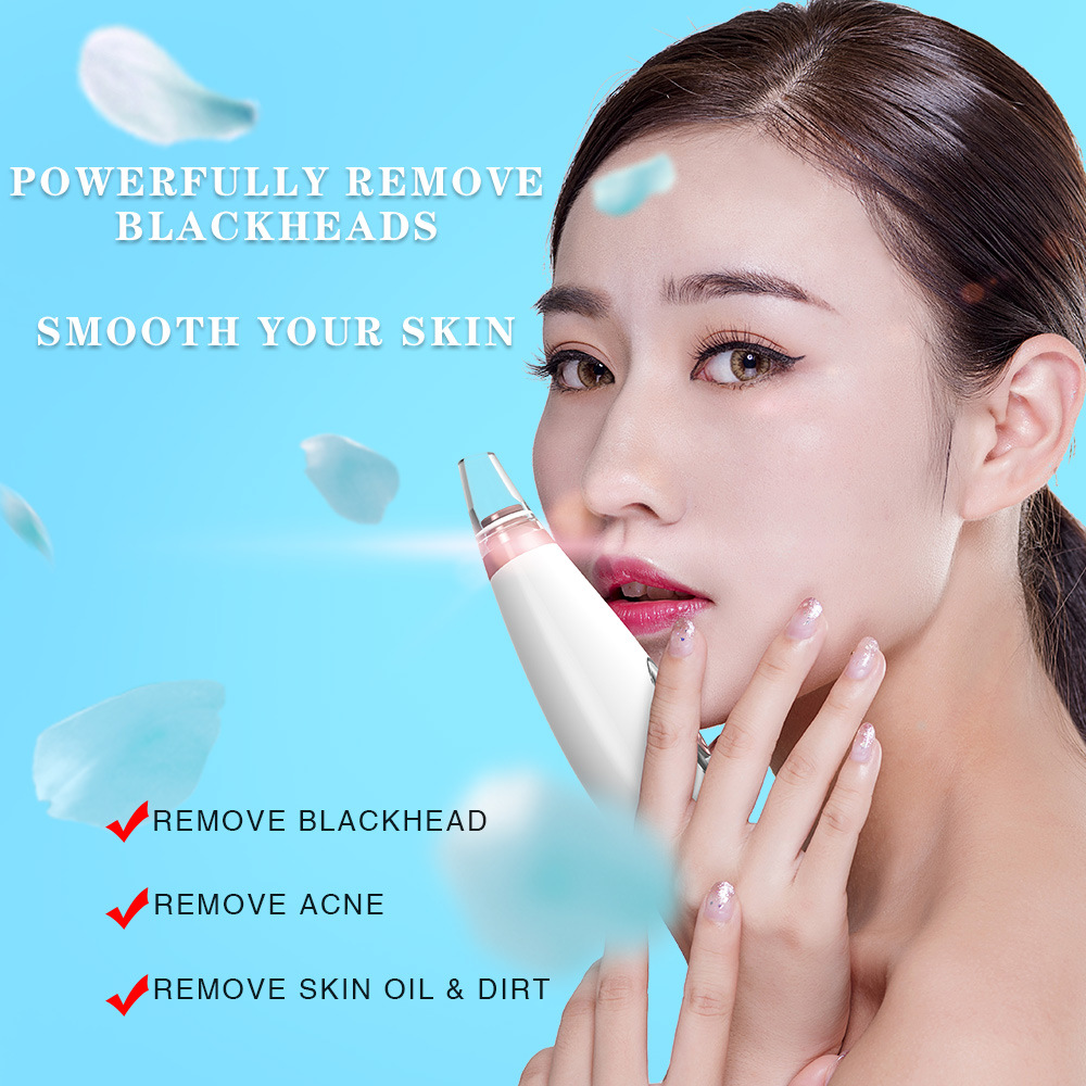 Electric Face Pores Cleaner And Blackhead Remover