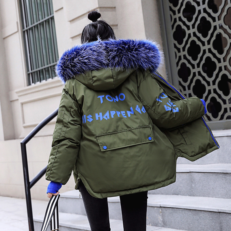 Women's cotton padded jacket in autumn and winter of 2019