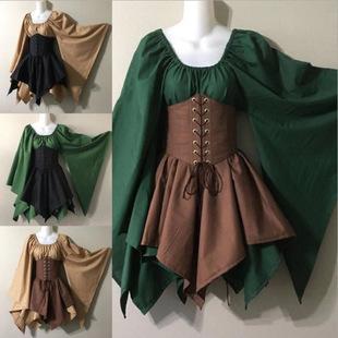 女性文��团d�r期的中世�o�B衣裙服�