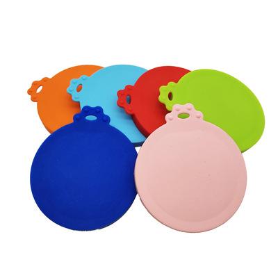 热销宠物罐头盖 食品级硅胶宠物用品 密封罐头盖三合一食物保鲜盖