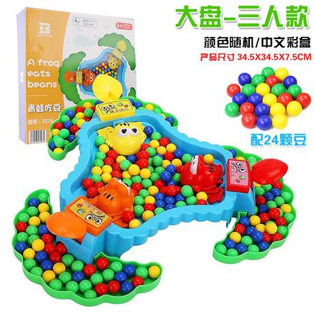 4425 âm thanh rung chuyển với cùng một đoạn cho ăn hạt nuốt ếch ăn đậu bình thường trò chơi hội đồng quản trị trò chơi cha mẹ-con Đồ chơi màu đỏ