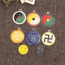 供应铜锌合金金属亚克力狗牌挂件 挂牌 装饰钥匙扣吊牌