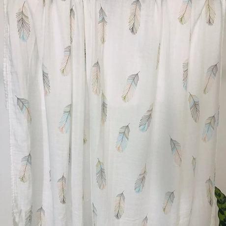 Khăn choàng gạc Muslin khăn tre sơ sinh crepe chăn giữ em bé túi đôi lớp mùa hè Khăn quấn