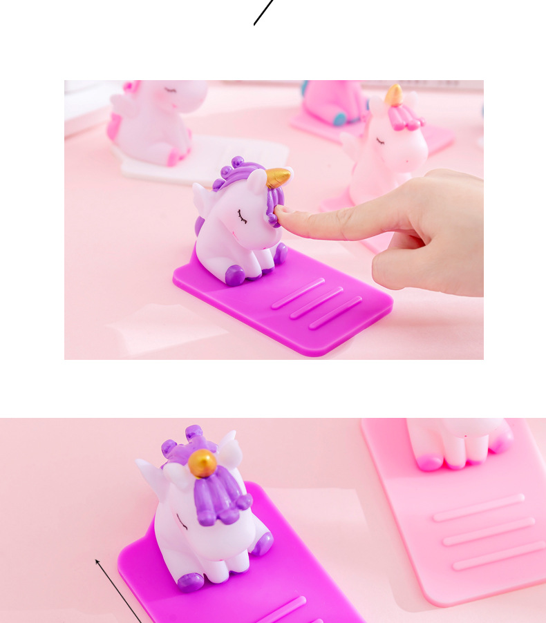 Unicorn Lazy Mobile Phone Stand Creative Multifunctional Desktop Car Adjustable Phone Stand NHZE202194