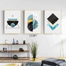 小L框北欧时尚简约装饰画 沙发背景墙壁画客厅挂画可任意组合包邮