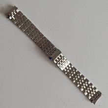 表带 钢带适用于天梭1853力洛克T41男士精钢T006手表带配件表链女