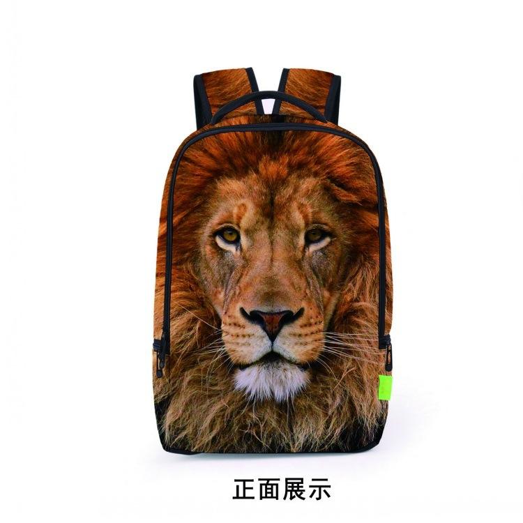 厂家直销速卖通学生书包3D立体背包男女休闲旅游运动双肩包欧美风