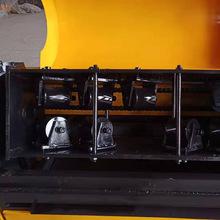 多功能废旧钢管调直除锈喷漆一体机脚手架双曲线钢管调直机