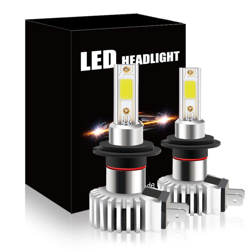 跨境货源 新款汽车LED大灯D9 led车灯前照头灯厂家直销H4 H7 H11