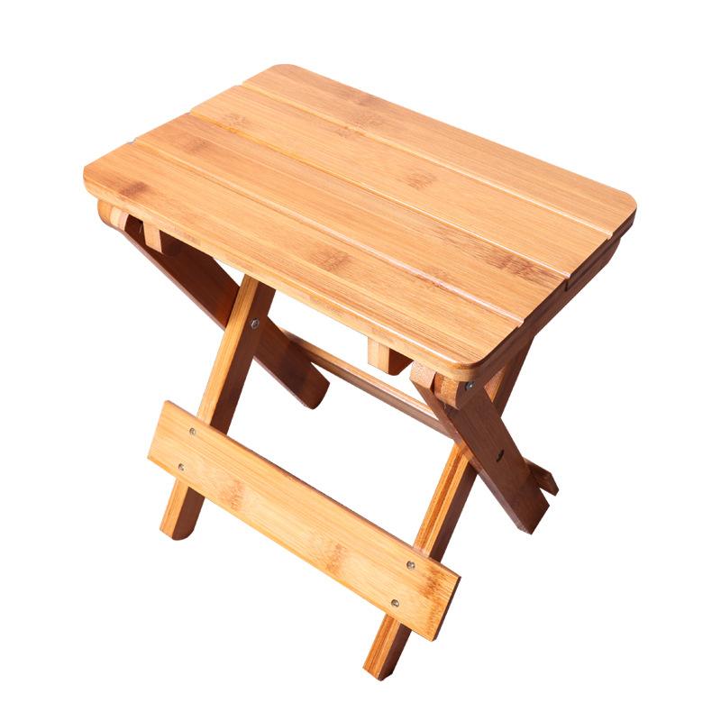 楠竹折叠凳子实木儿童便携式折叠凳椅可折叠凳小板凳成人矮凳家用