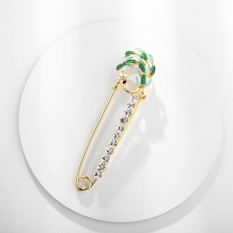 Alloy Korea Animal brooch  AI089A  Fashion Jewelry NHDR3211AI089A