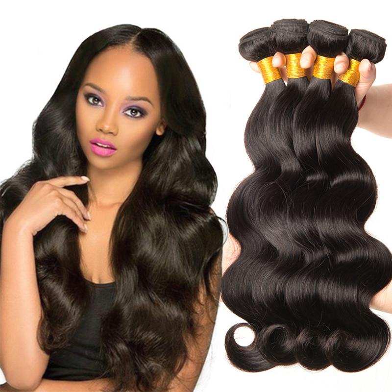 Body Wave Bundles Brazilian Virgin Hair...