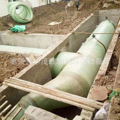 厂家批发玻璃钢通风管耐腐蚀酸碱使用寿命长 定制异形玻璃钢管道