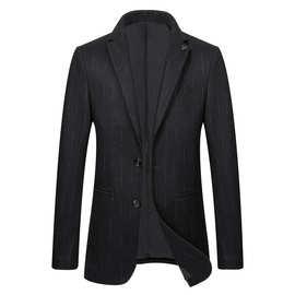 工厂直销新款羊毛西服男春秋新款男士毛呢外套呢子短款大衣小西装