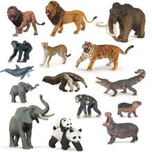 法国PAPO正版正品 恐龙野生仿真动物模型儿童玩具新款狮子老虎