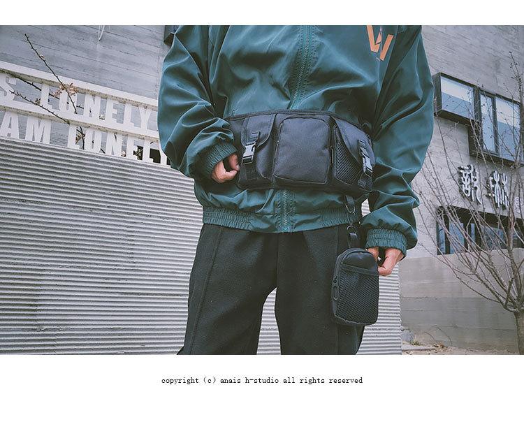 Fashion multifunctional tactical waist bag NHAV327110