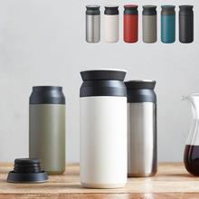 创意水樽真空不锈钢保温杯大肚子便携车载咖啡杯礼品定制350ML