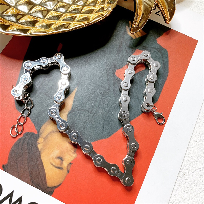 Cool personality, unique design chain, adjustable clavicle chain NHYQ129175