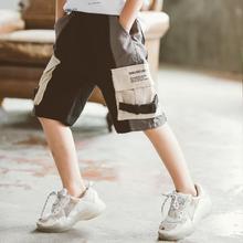 大童装2019夏季男童装新款男童裤子儿童工装裤短裤休闲裤童装裤子