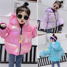 女童棉衣加厚2019年新款韓版洋氣寶寶棉服兒童冬裝小童外套冬季潮