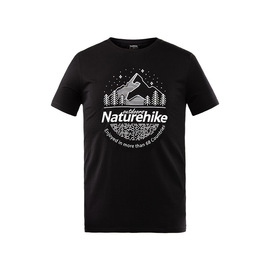 Naturehike move clients outside men's and women's t-shirts sports outdoor camping in spring and summer loose sweating short-sleeved T-shirts