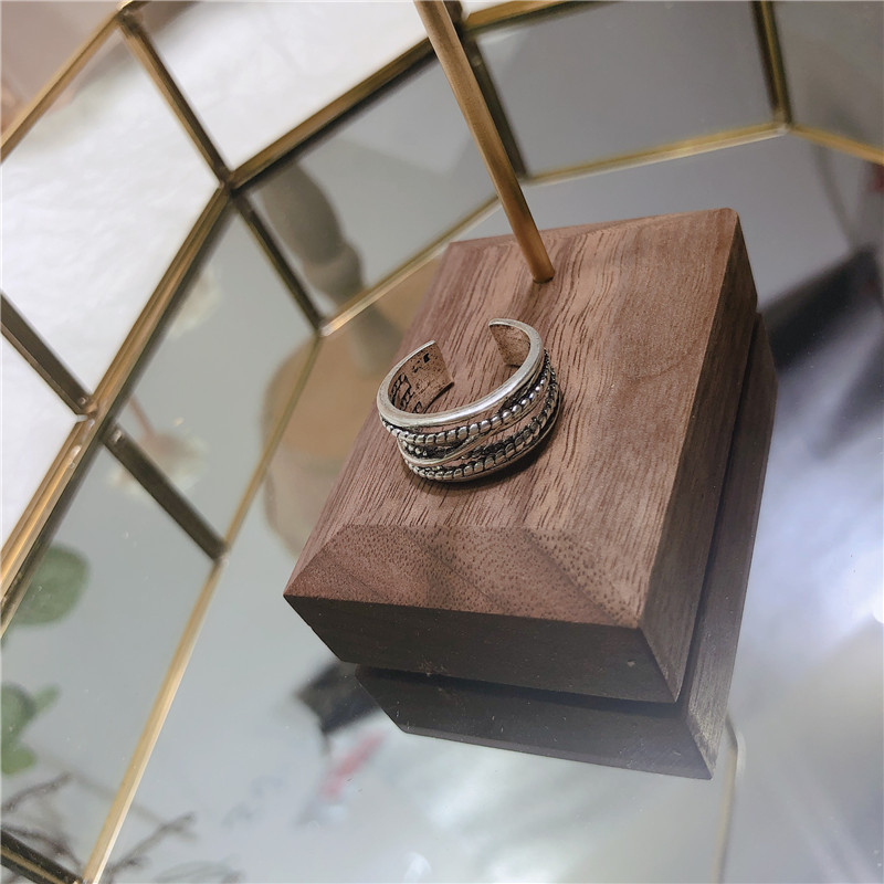 Alloy Korea Geometric Ring  (Main color)  Fashion Jewelry NHYQ0792-Main-color