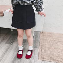 女童宝宝短裙2019秋季新款儿童韩版百搭西装半身包臀裙