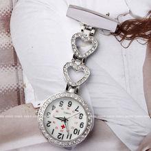 熱賣/滾鉆5254護士表掛表胸表醫用護士懷表女士水鉆手表批發工廠
