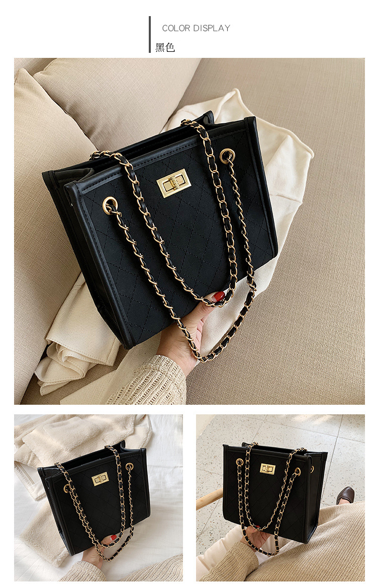 Korean version of the ocean chain shoulder bag NHTC156319