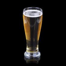 450ml玻璃杯腰形多用圆珠扎啤杯啤酒杯果汁杯水杯无色透明杯圆形