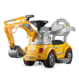 Hengtai 56123 children's multifunctional electric engineering vehicle can be manually remotely controlled baby remote control excavator