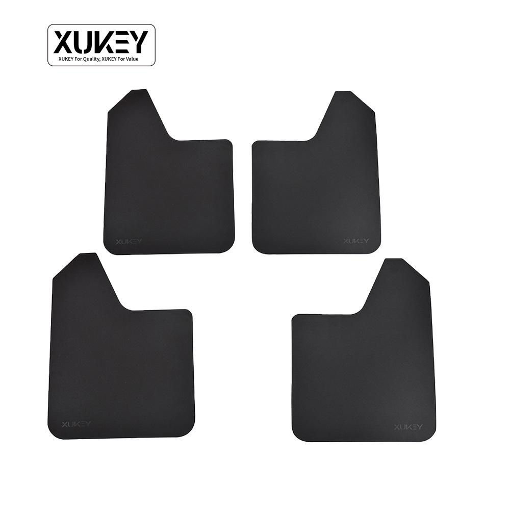 汽车通用挡泥板XUKEY挡泥皮跨境货源可定制量装速ebay外贸爆款4片