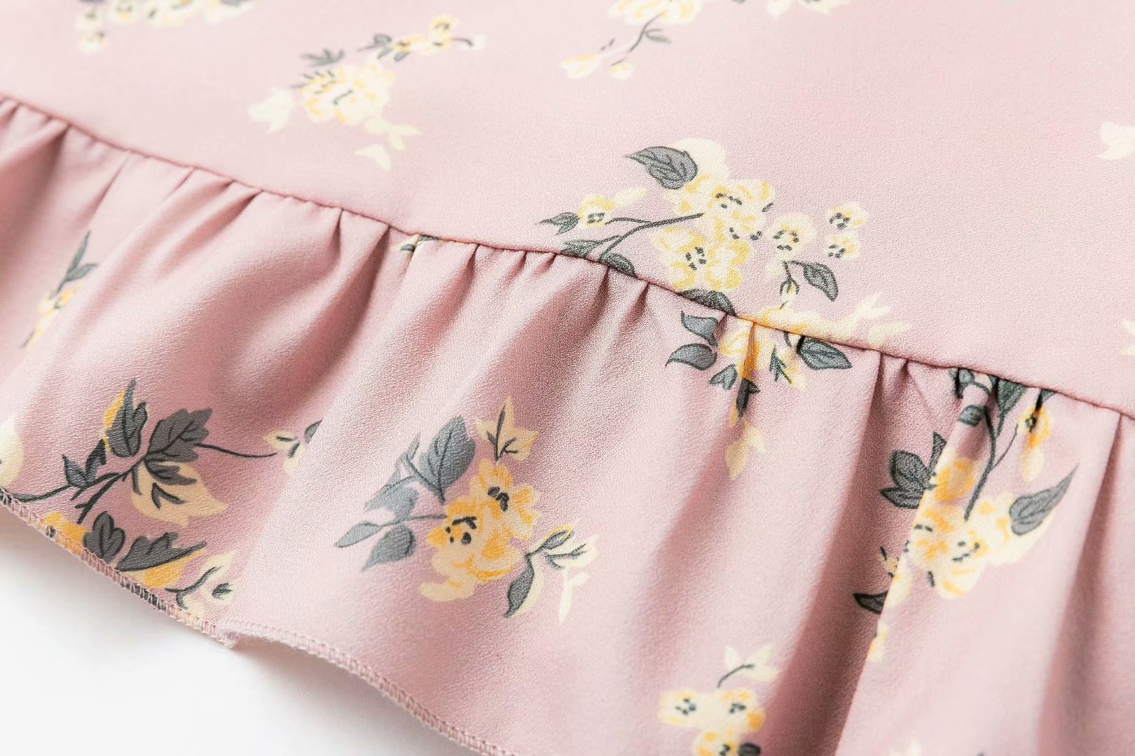 Polyester Fashionskirt(Pink-S) NHDS0698-Pink-S