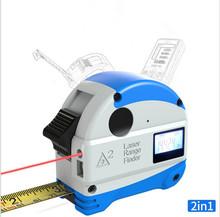 激光卷尺电子多功能红外线测量高精度不锈钢卷尺5米尺子木工