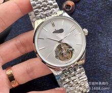 瑞士全自动机械表超薄男性手表厂家高档钢带机械手表男士镂空腕表
