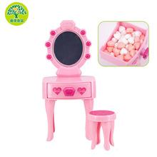 天有芭比系列梦幻梳妆台造型糖果女孩过家家儿童生日玩具礼物