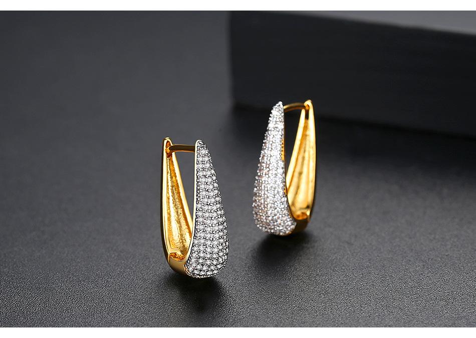 Alloy Fashion Geometric earring  18kT02F24  Fashion Jewelry NHTM066318kT02F24