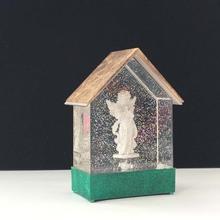 音樂盒 水晶球 鏈 可定制韓國可愛通創意情侶款扣環定做禮品掛