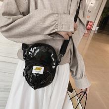 小包包女夏2019新款時尚新潮韓版鐳射帽子包單肩斜跨包