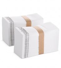 布触感一次性抹手纸餐巾纸口布纸