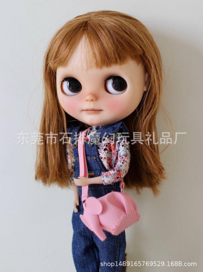 [ML177]6分娃娃 阿莫 blythe小布 holala 袖珍动物包包定制200起